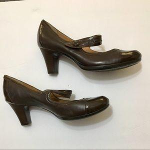 Nurture Leather Mary Jane Heels